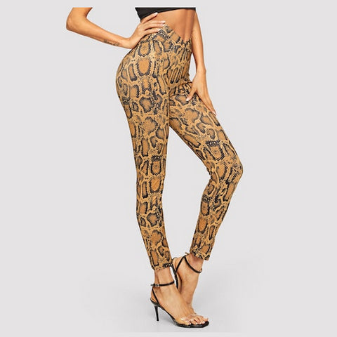 snakeskin leggings - Tights by Velma Canaday