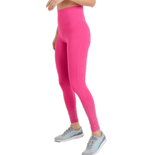 pink spandex leggings - Tights By Velma Canaday