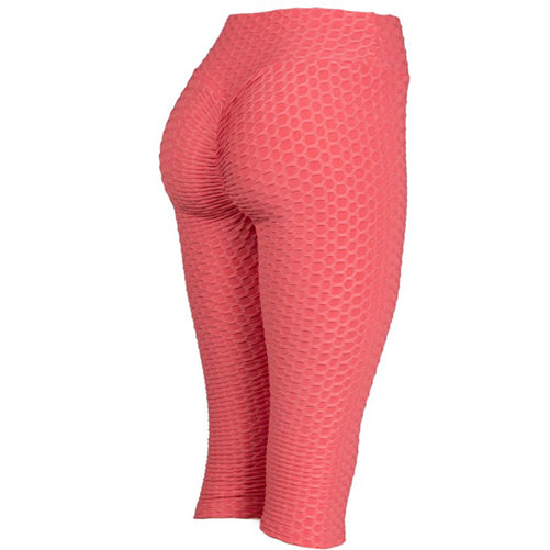 coral brazilian scrunch leggings - Tight by Velma Canaday
