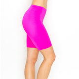 neon pink shorts - Tights by Velma Canaday