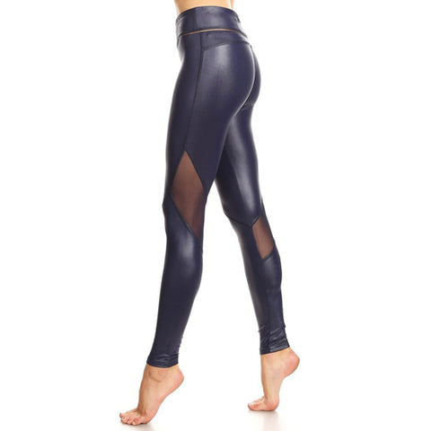 navy blue leggings - Tights By Velma Canaday