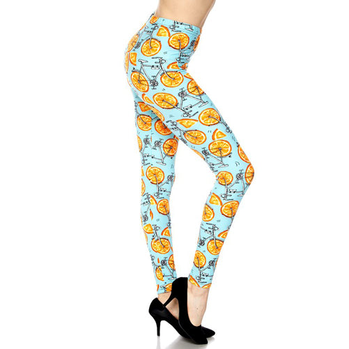 print leggings - Tights by Velma Canaday