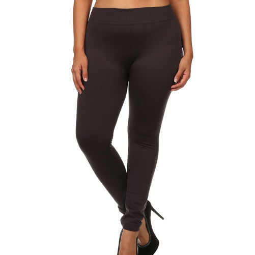 plus fleece lined leggings - Tights by Velma Canaday