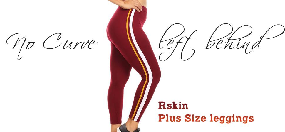 Burgundy Plus size Leggings by Velma Canaday - L, XL