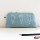 WORKSHOP - embroidered zip pouch, Saturday 12th January