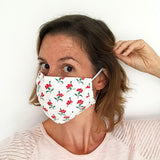 COTTON FACE MASK - Vintage Pinks