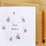 CARD - bee mine