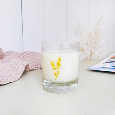 SOY CANDLE - Bergamot and Lavender