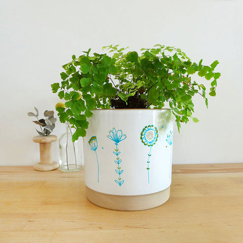 PLANT POT - Wildflowers
