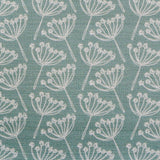 FABRIC - cow parsley, seagreen