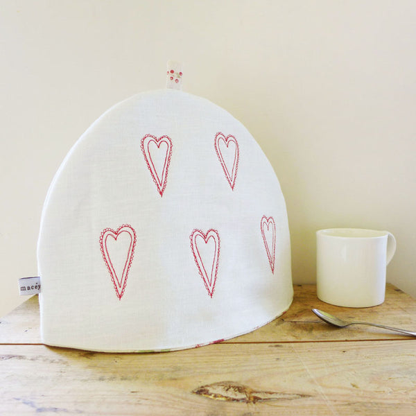 WORKSHOP - embroidered tea cosy, Saturday 13th April