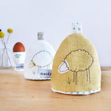 Corn Linen Sheep Egg Cosy