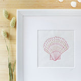 Embroidered Scallop Picture