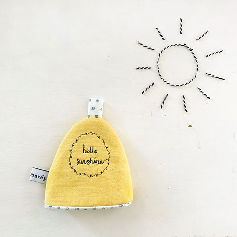 'Hello Sunshine' Egg Cosy
