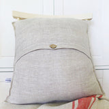 LINEN CUSHION - ivory Pomegranates