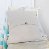 LINEN CUSHION - sailboats