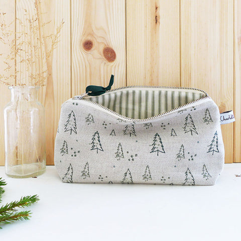 MID POUCH - natural Nordic Trees