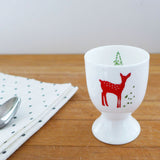 PAIR OF EGG CUPS - Reindeer