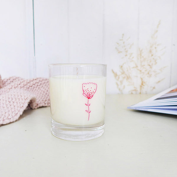 SOY CANDLE - Rose Geranium