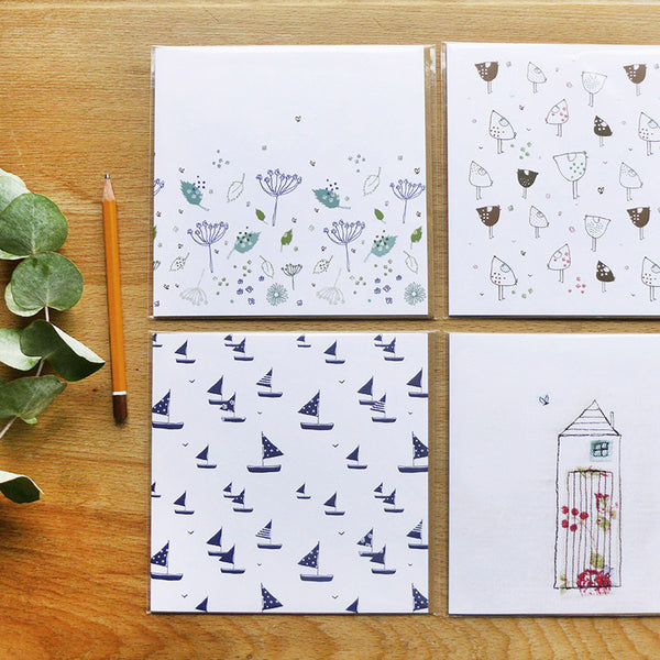 NOTECARDS - set of 4