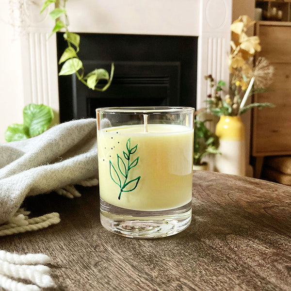 SOY CANDLE - Sweet Orange, Cinnamon and Clove