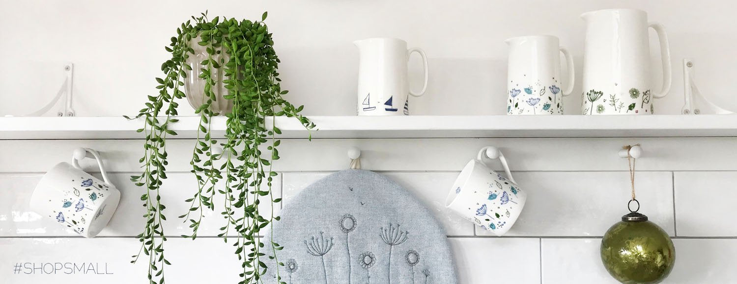 embroidered & printed linen - unique gifts & home accessories
