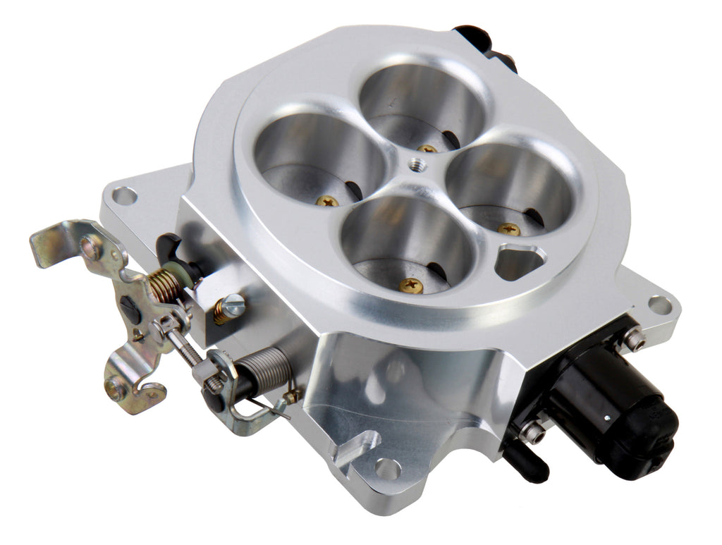 UNIVERSAL 4BBL BILLET 1000 CFM 4150 FLANGE THROTTLE BODY