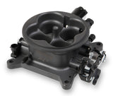 MPFI THROTTLE BODY -  HARD CORE GRAY