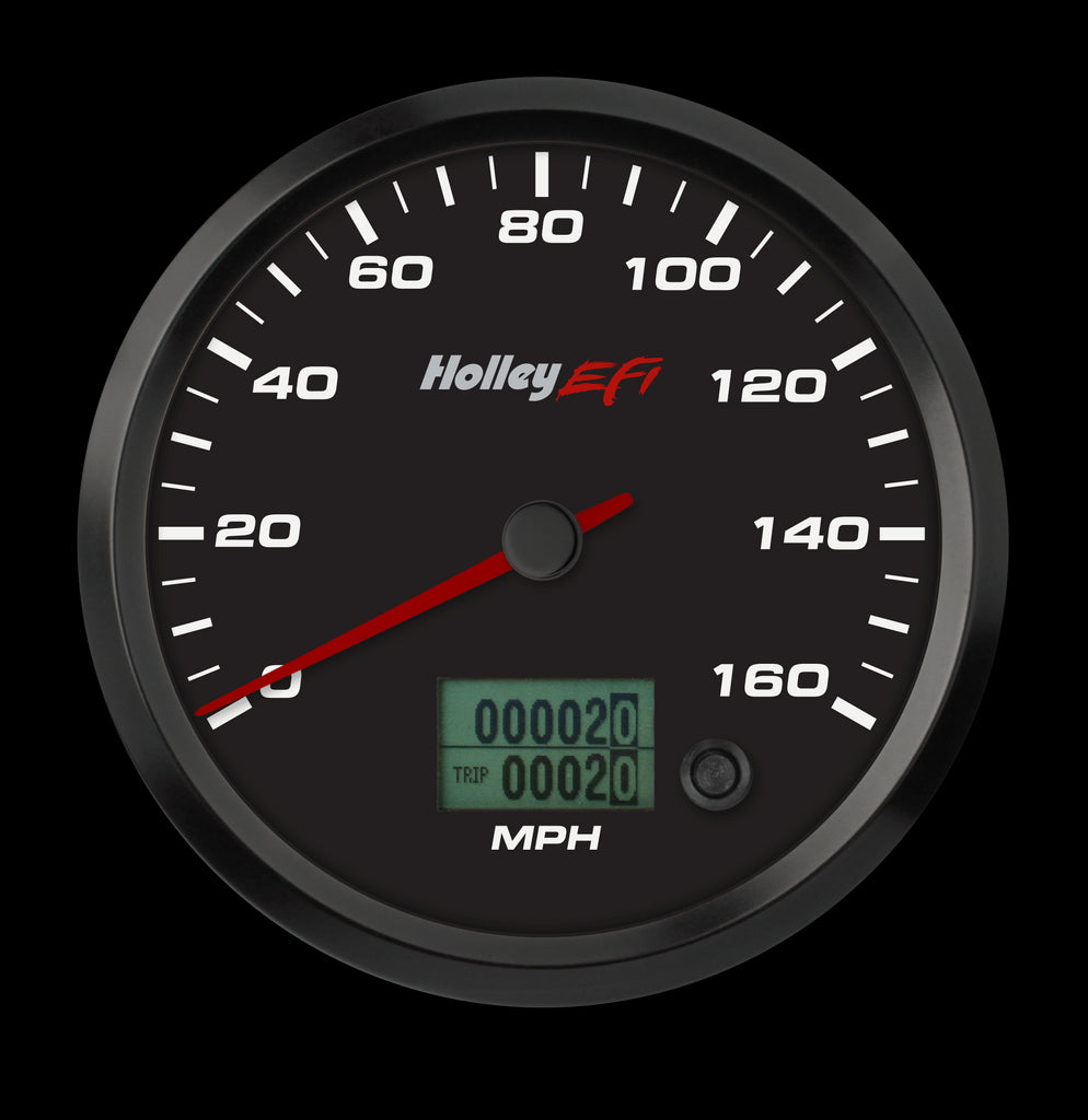 "3-3/8"" CAN Speedometer (w/ Odometer), 0-160 MPH"