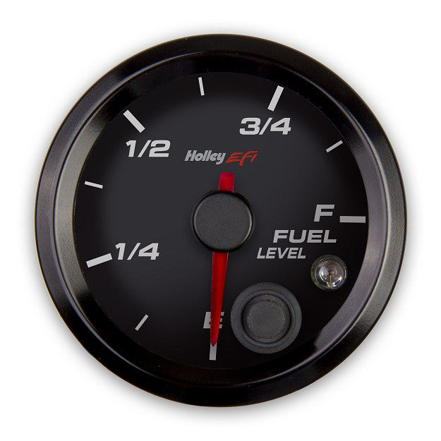 2-1/16 FUEL LEVEL GAUGE, PROGRAMMABLE, BLACK