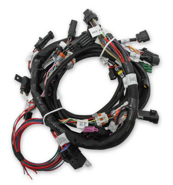 Ford Coyote Ti-VCT Harness Kit, includes Power Harness, Main Harness, Coil Drivers, and USCAR Injector Harness