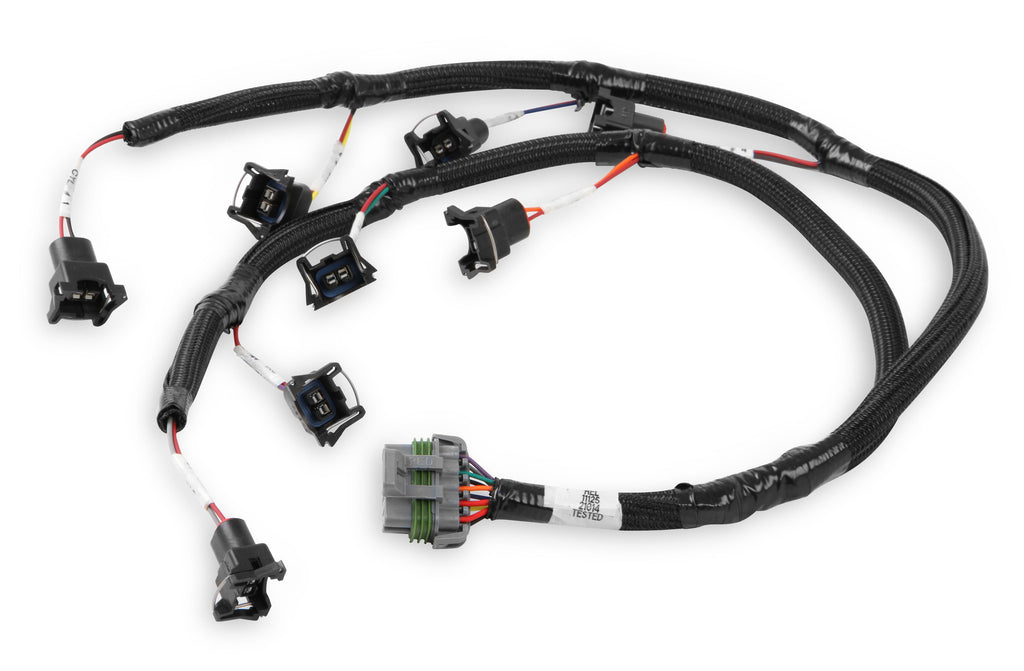 FORD INJECTOR HARNESS MOD/COYOTE, JETRONIC CONNECTORS