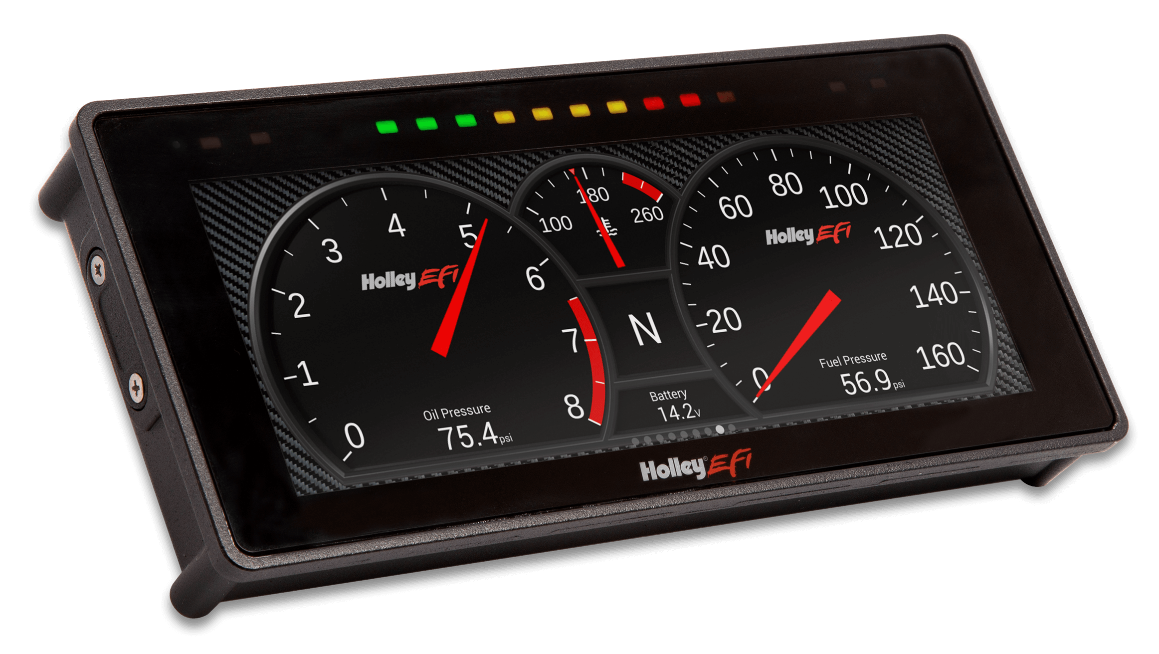 "HOLLEY EFI 6.86"" PRO DASH"