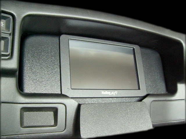 "1987-1993 Mustang Holley 7.5"" EFI Dash Insert"