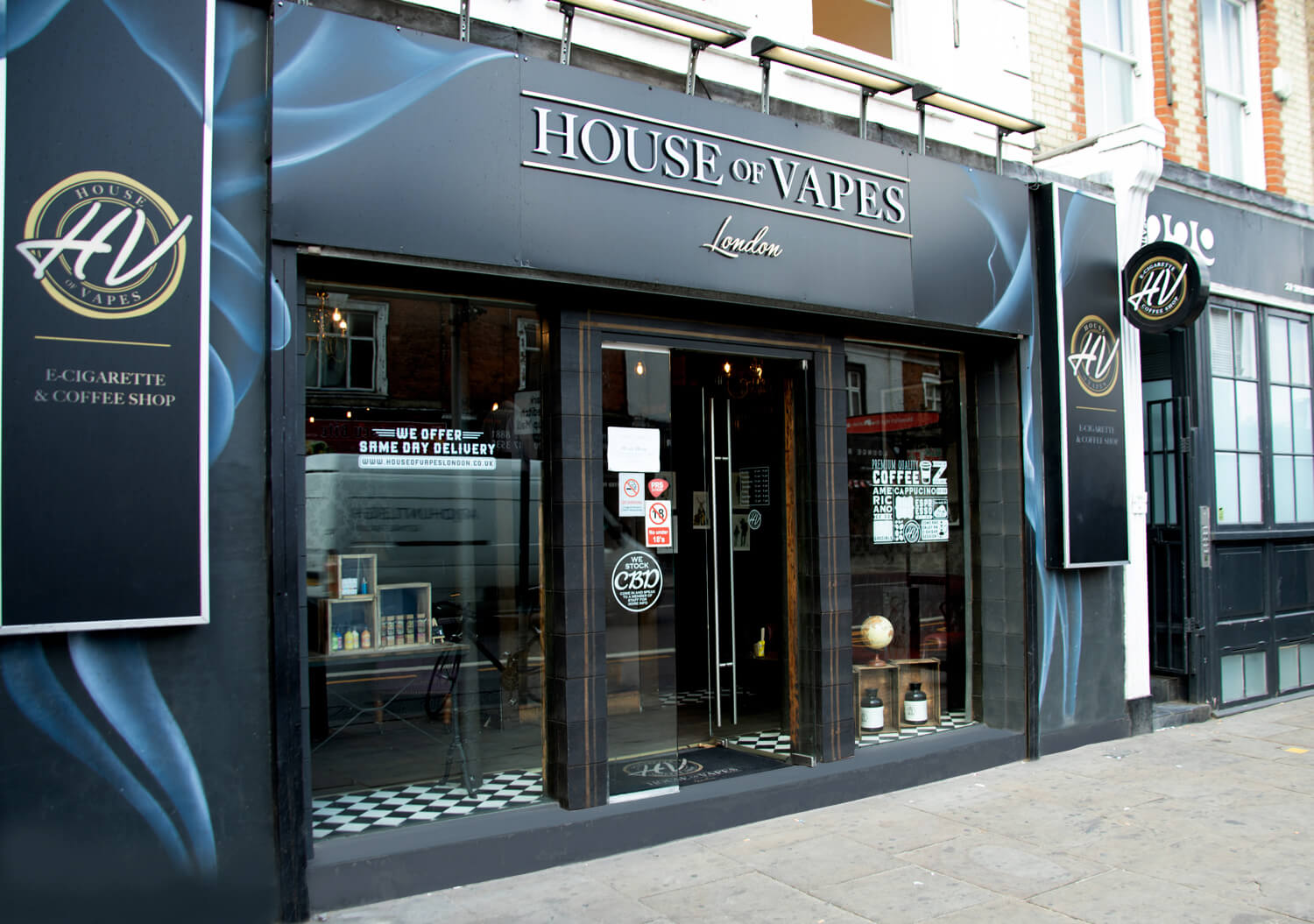 Shipping & Returns - House of Vapes - London