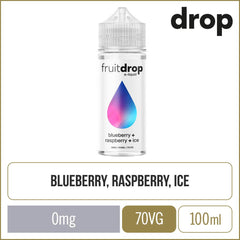 Fruit Drop Blueberry Raspberry Ice E-Liquid 100ml