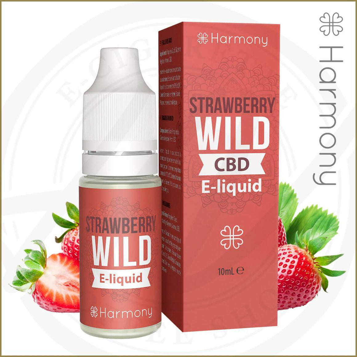 Harmony CBD E-Liquids | Strawberry Hemp