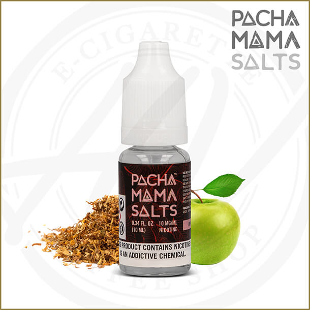 Pacha Mama Salts | Apple Tobacco (Nic Salt)