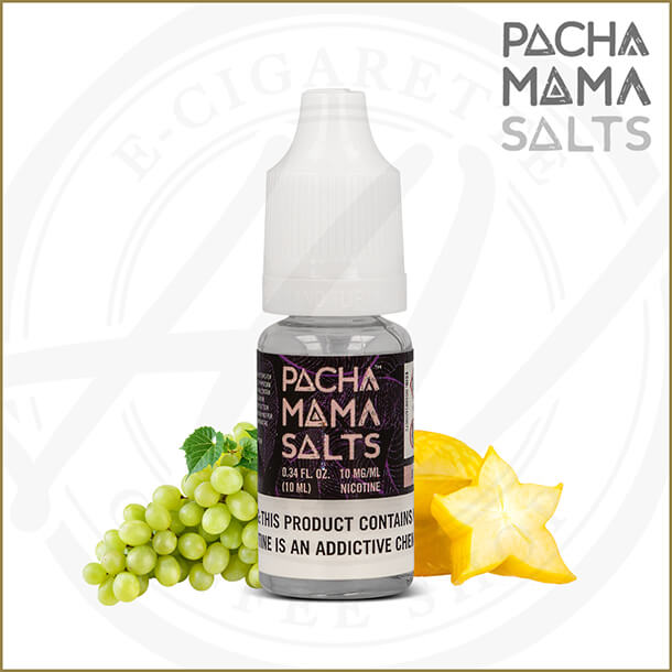 Pacha Mama Salts | Starfruit Grape (Nic Salt)
