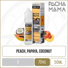 Peach Papaya Coconut Cream