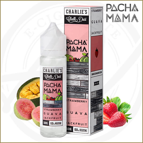 Pacha Mama E-Liquids | Strawberry Guava Jackfruit
