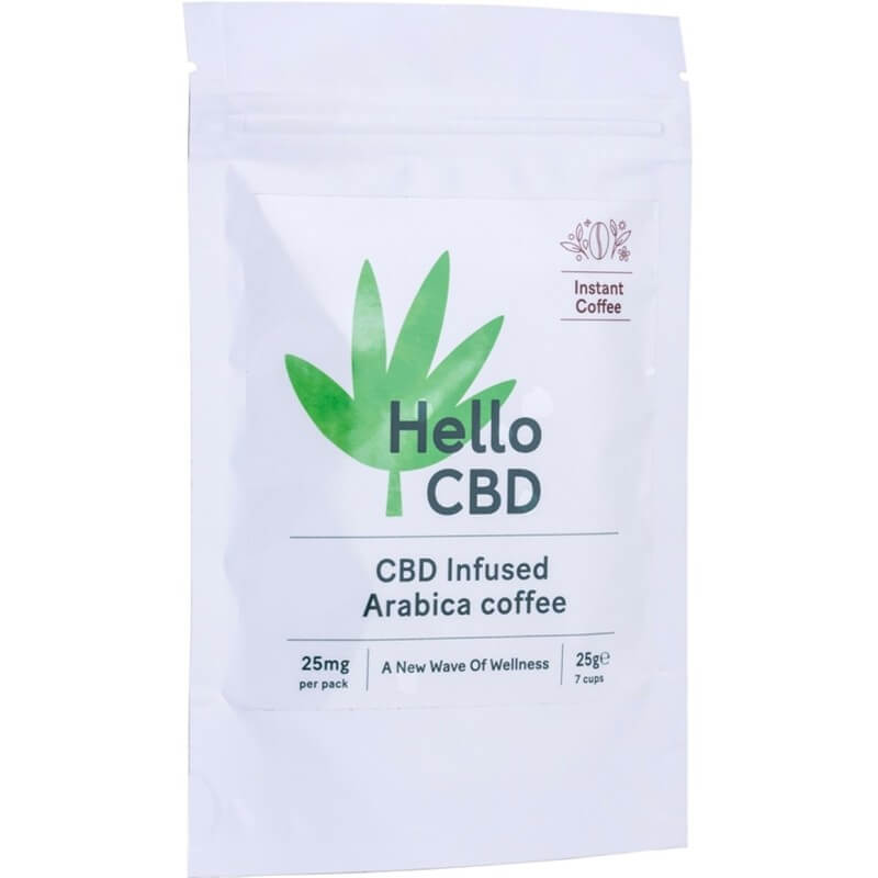 Hello CBD Infused Instant Coffee 25g
