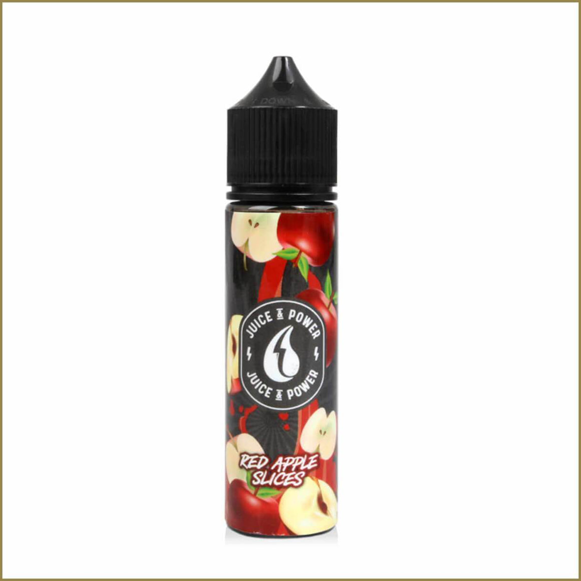 Juice & Power Red Apple Slices 50ml