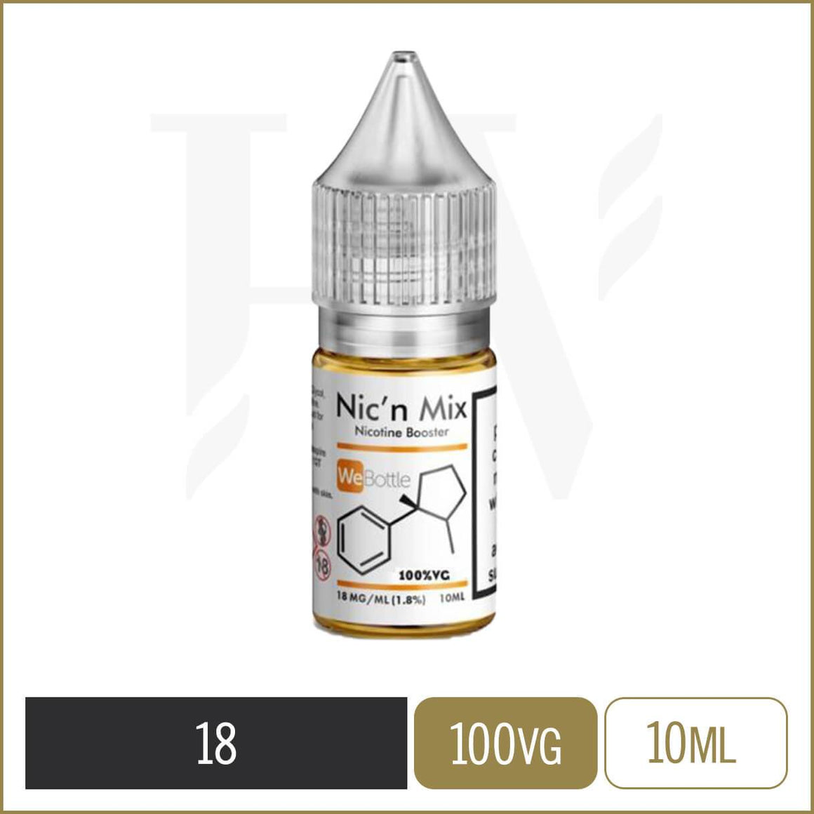 Nic' n Mix 100% VG nicotine shot 18MG/ML