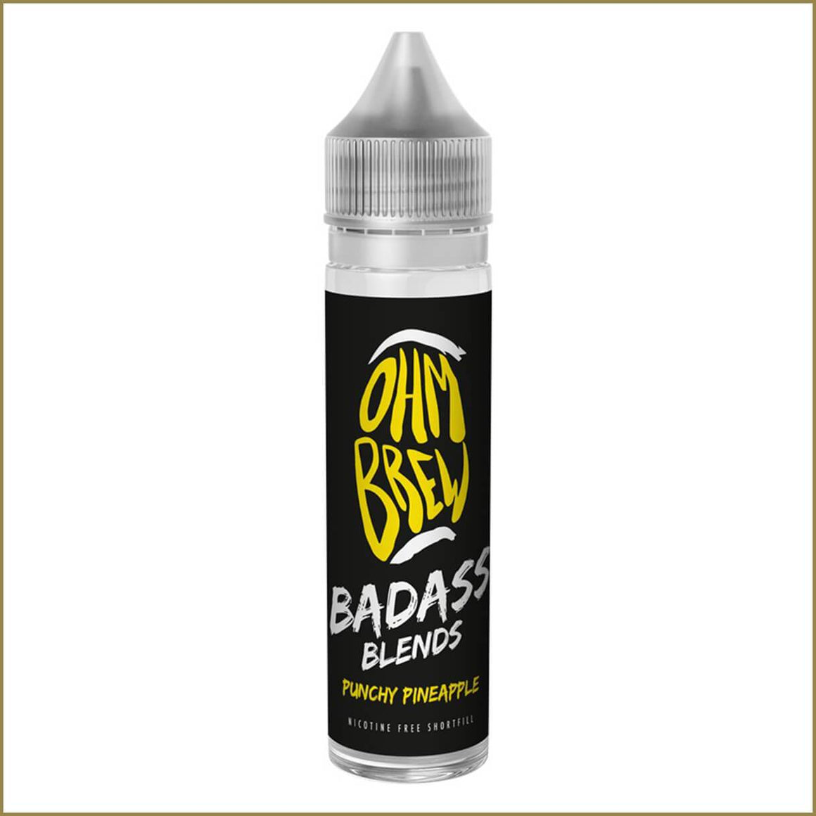 Ohm Brew Badass Blends Punchy Pineapple 50ml