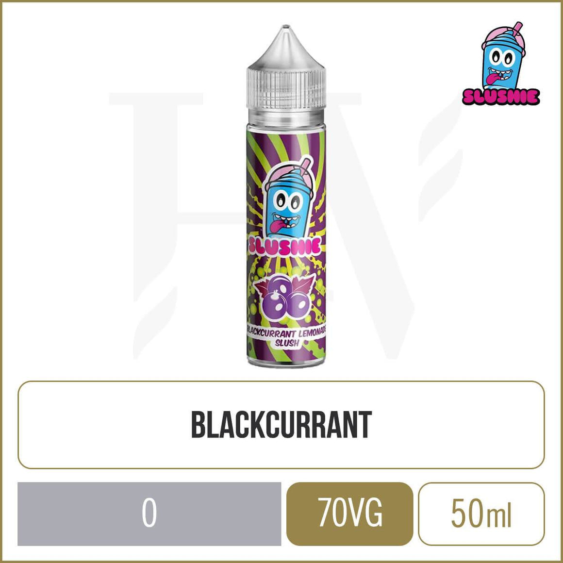 Slushie Blackcurrant Lemonade Slush 50ml
