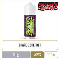 Strapped Sherbets Grape E-Liquid 100ml