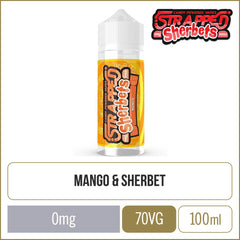 Strapped Sherbets Mango E-Liquid 100ml