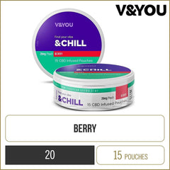 V&YOU Berry Chill CBD Pouch