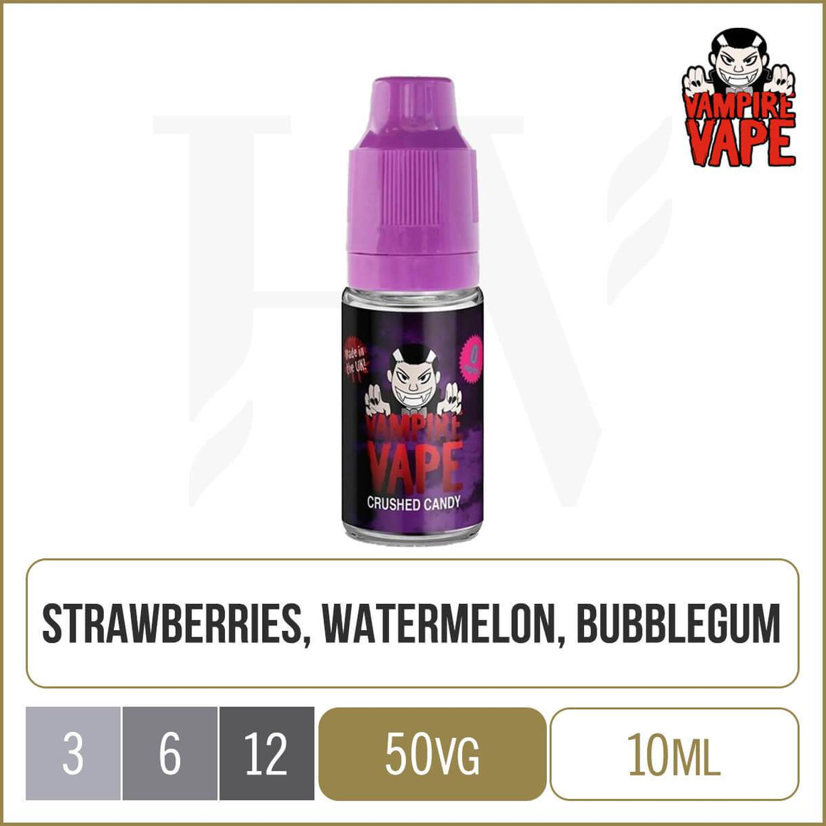 Vampire Vape crushed candy e-liquid